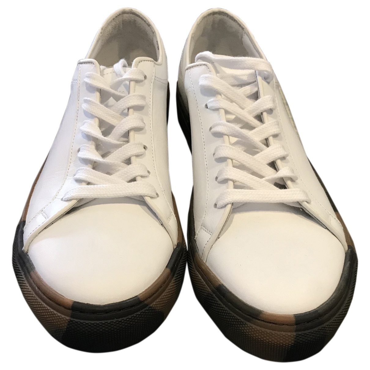 Paul & Joe \N White Leather Trainers for Men 43 EU