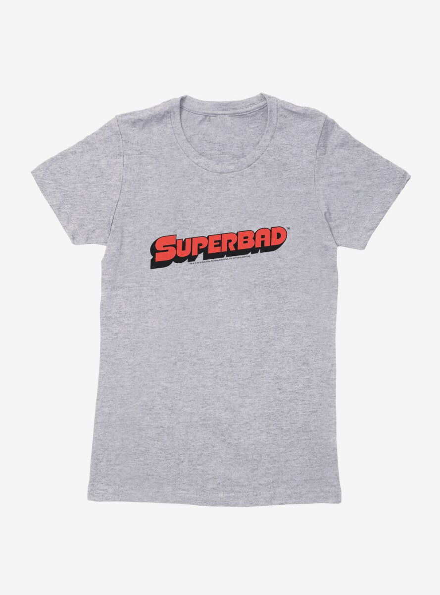 Superbad Name Logo Womens T-Shirt