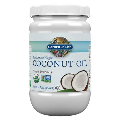 Organic Extra Virgin Coconut Oil 14 Oz by Garden of Life