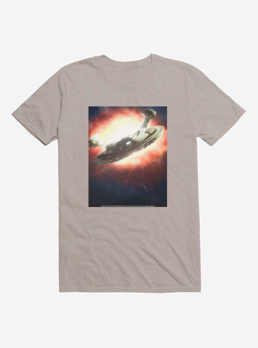 Star Trek Ship Flight Red T-Shirt