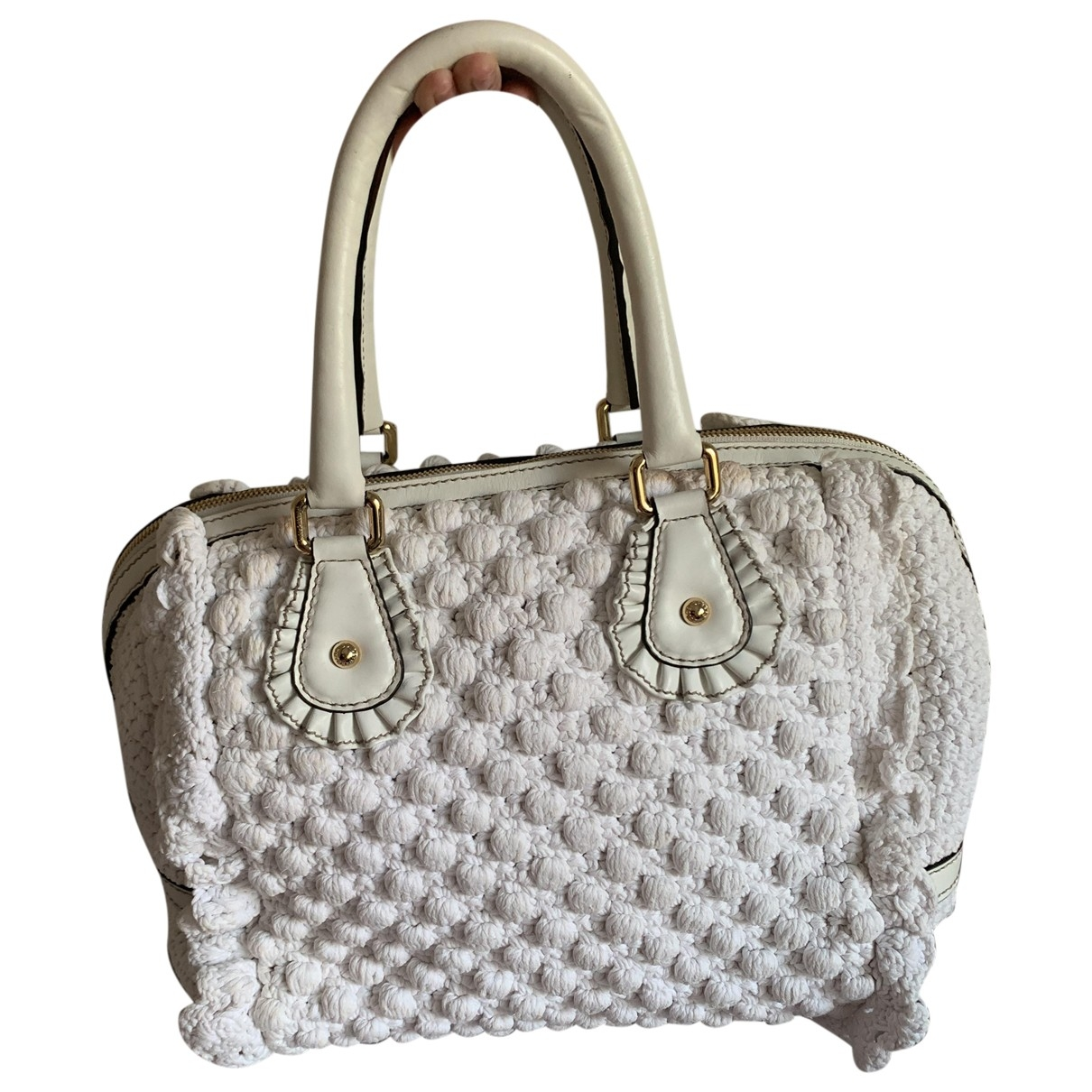 Dolce & Gabbana \N White Wool handbag for Women \N
