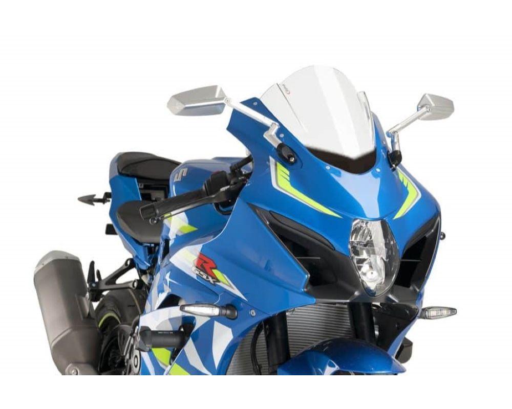 Puig 9013W Z-Racing Windscreen - Clear Suzuki GSX-R1000 2017