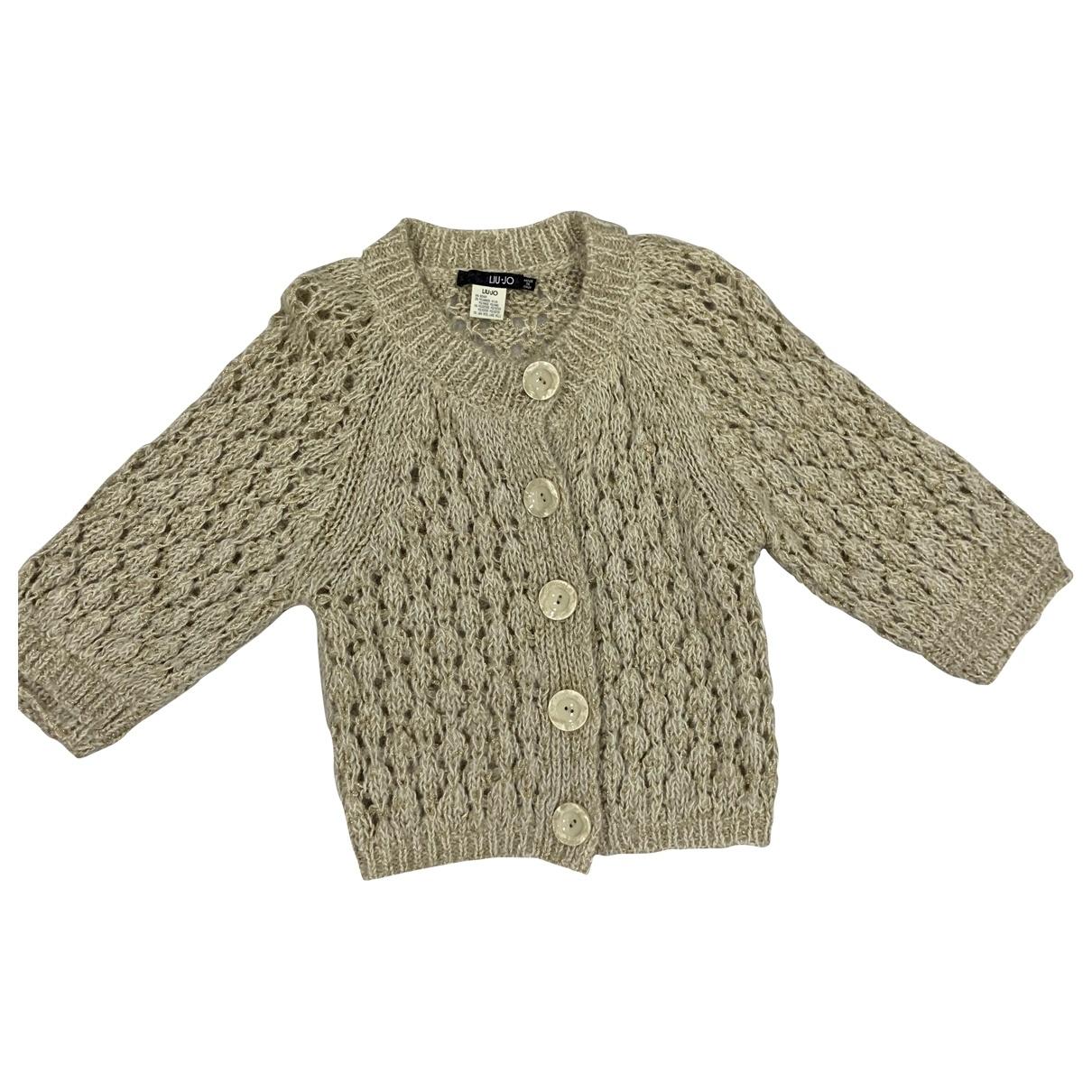 Liu.jo \N Beige Wool Knitwear for Women 40 IT