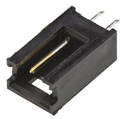 TE Connectivity , AMPMODU MOD II, 2 Way, 1 Row, Straight PCB Header (10)