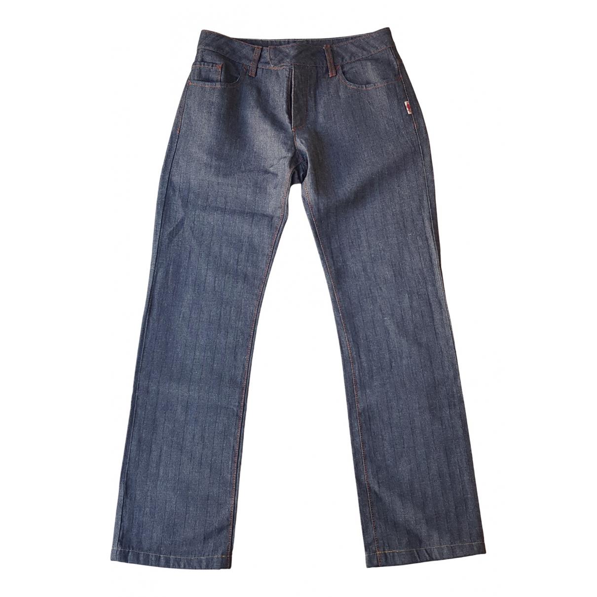 Jean Paul Gaultier \N Blue Denim - Jeans Jeans for Women 36 FR
