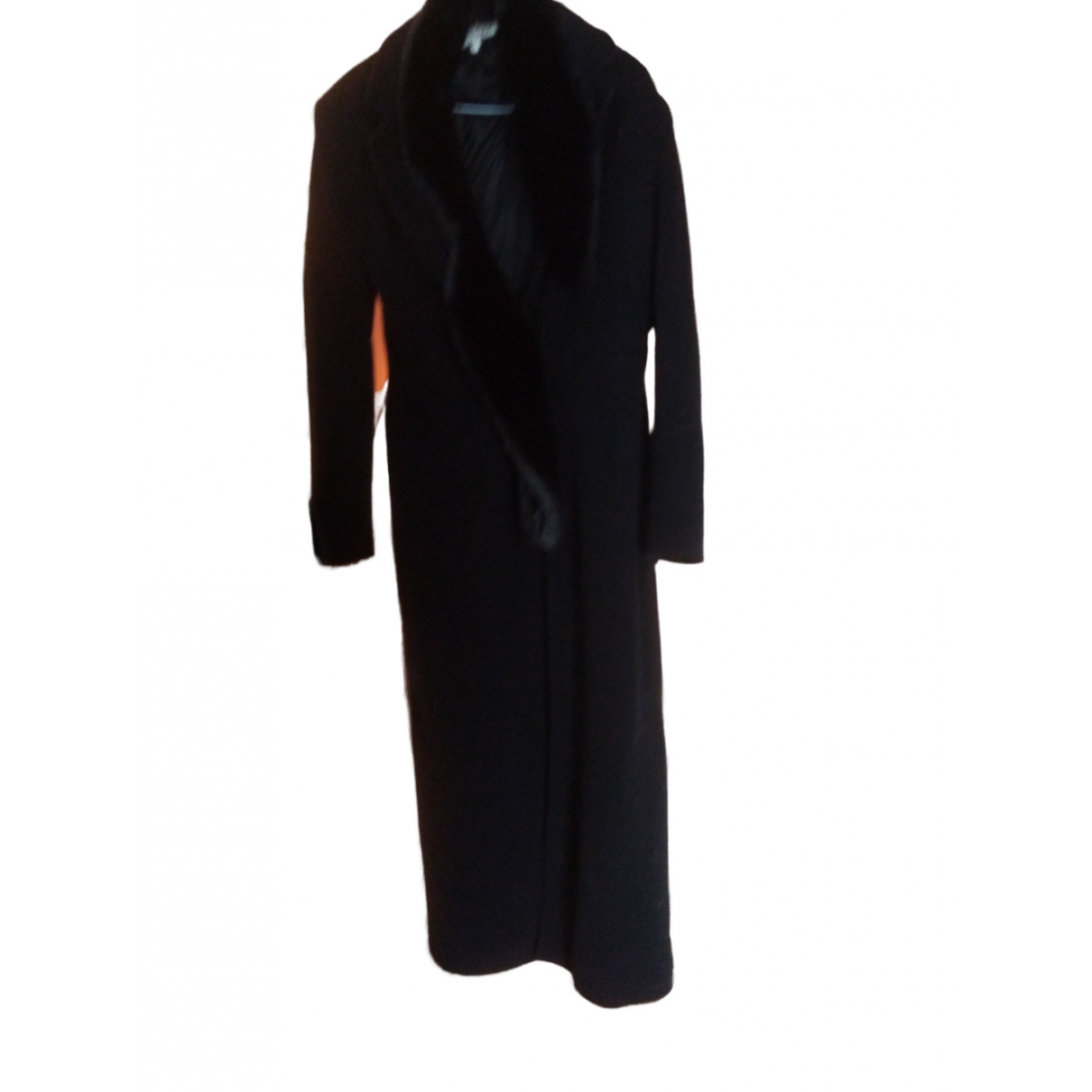 Non Signé / Unsigned \N Black Wool coat for Women 2 US
