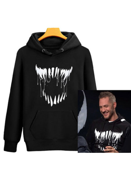 Milanoo Venom Hoodie 2020 Movie Marvel Comics Trendy Hoodie Halloween