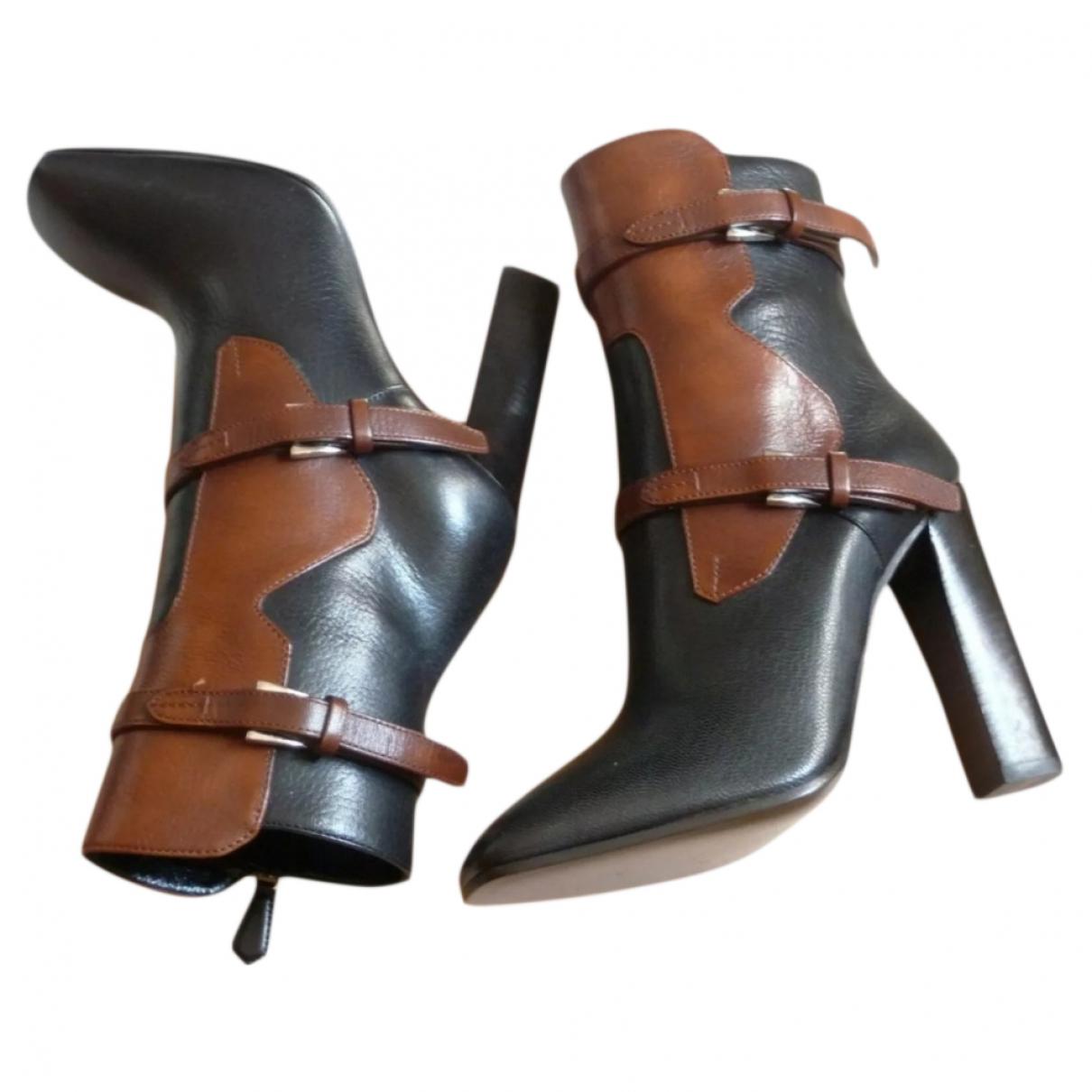 Prada \N Multicolour Leather Boots for Women 36 EU