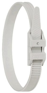 Legrand , Colson Series Grey Cable Tie, 185mm x 9 mm