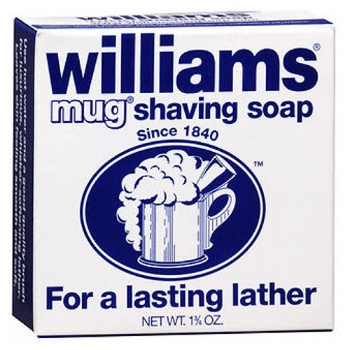 Williams Mug Shaving Soap 1.75 oz by Grecian