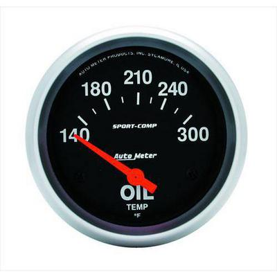 Auto Meter Sport-Comp Electric Oil Temperature Gauge - 3543