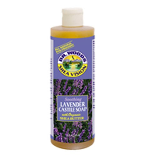 Lavender Soap With Shea Butter, 16 Oz by Dr.Woods Products