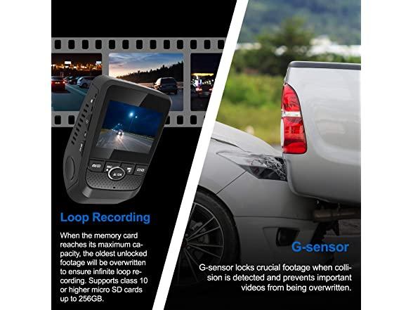 Rexing Gw101 1080p Full Hd Car Dashcam