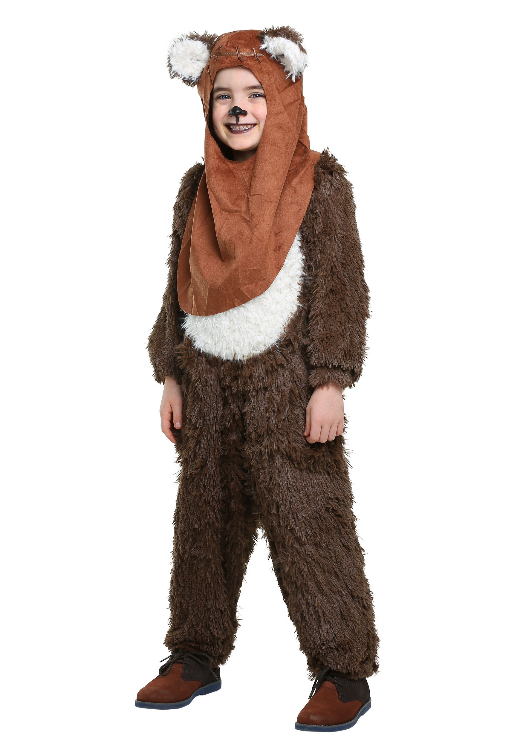 Child Deluxe Wicket/Ewok Costume | Warm Halloween Costume