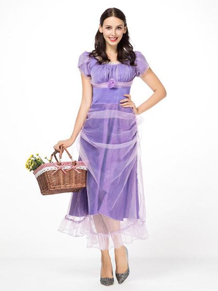 Milanoo The Nutcracker And The Four Realms Cosplay Girls Clara Dress Costume Halloween