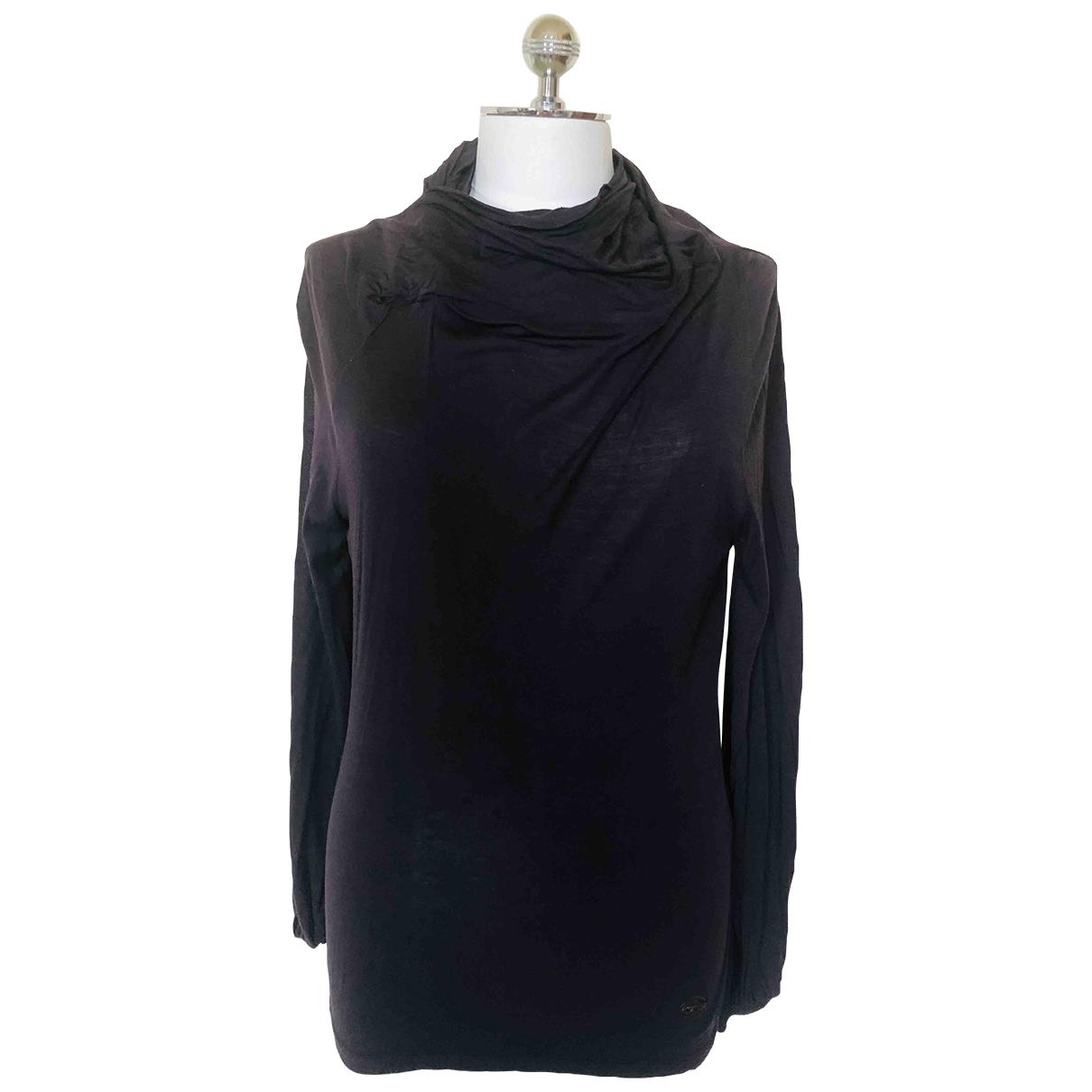 Salvatore Ferragamo \N Purple Cotton  top for Women 40 IT