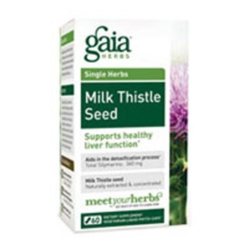 Milk Thistle Seed 60 Caps by Gaia Herbs
