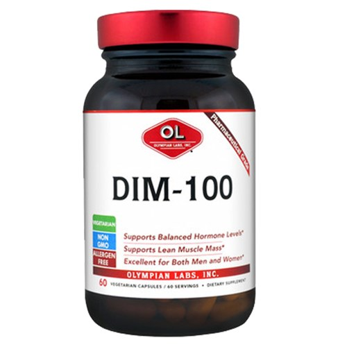 DIM (diindolylmethane) 60 caps by Olympian Labs