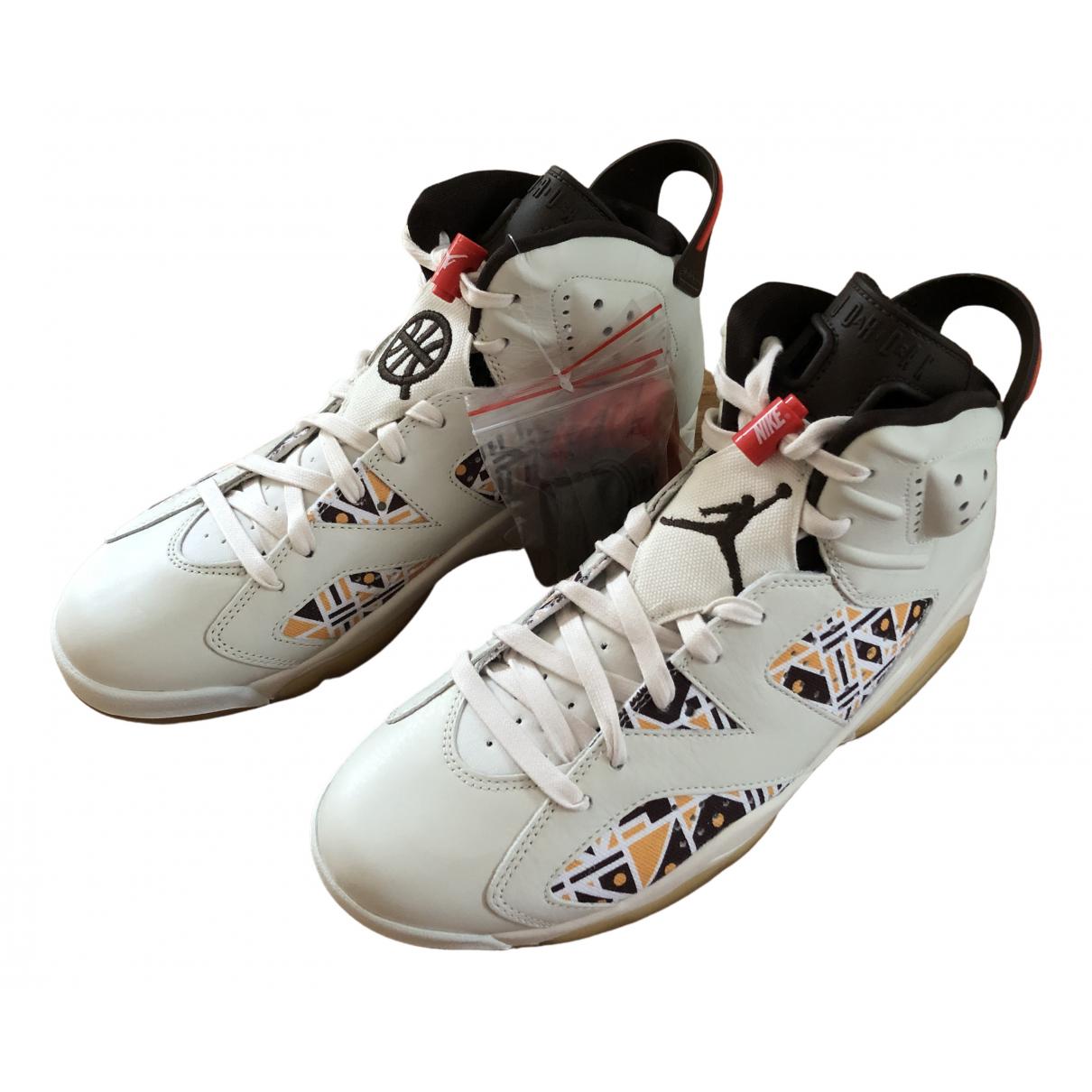 Jordan Air Jordan 6  Beige Cloth Trainers for Men 9.5 US