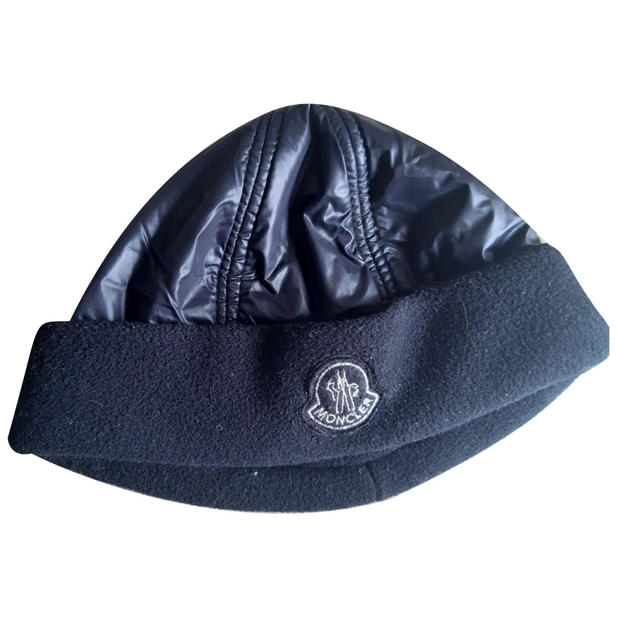 Moncler \N Black hat & Gloves for Kids \N