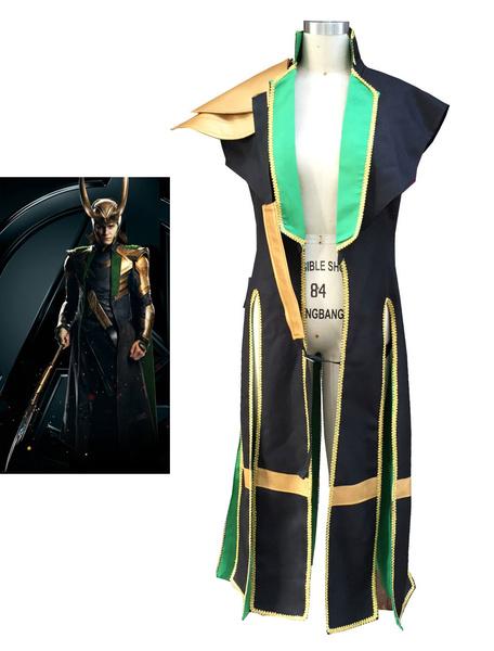 Milanoo Marvel Comics Avengers Thor Loki Halloween Cosplay Costume Marvel's Comic Cosplay Costume Halloween