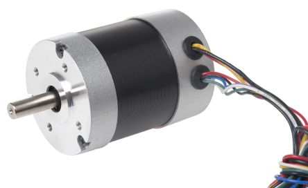 RS PRO Brushless DC Motor, 36 V dc, 0.68 Nm, 4000 rpm, 8mm Shaft Diameter