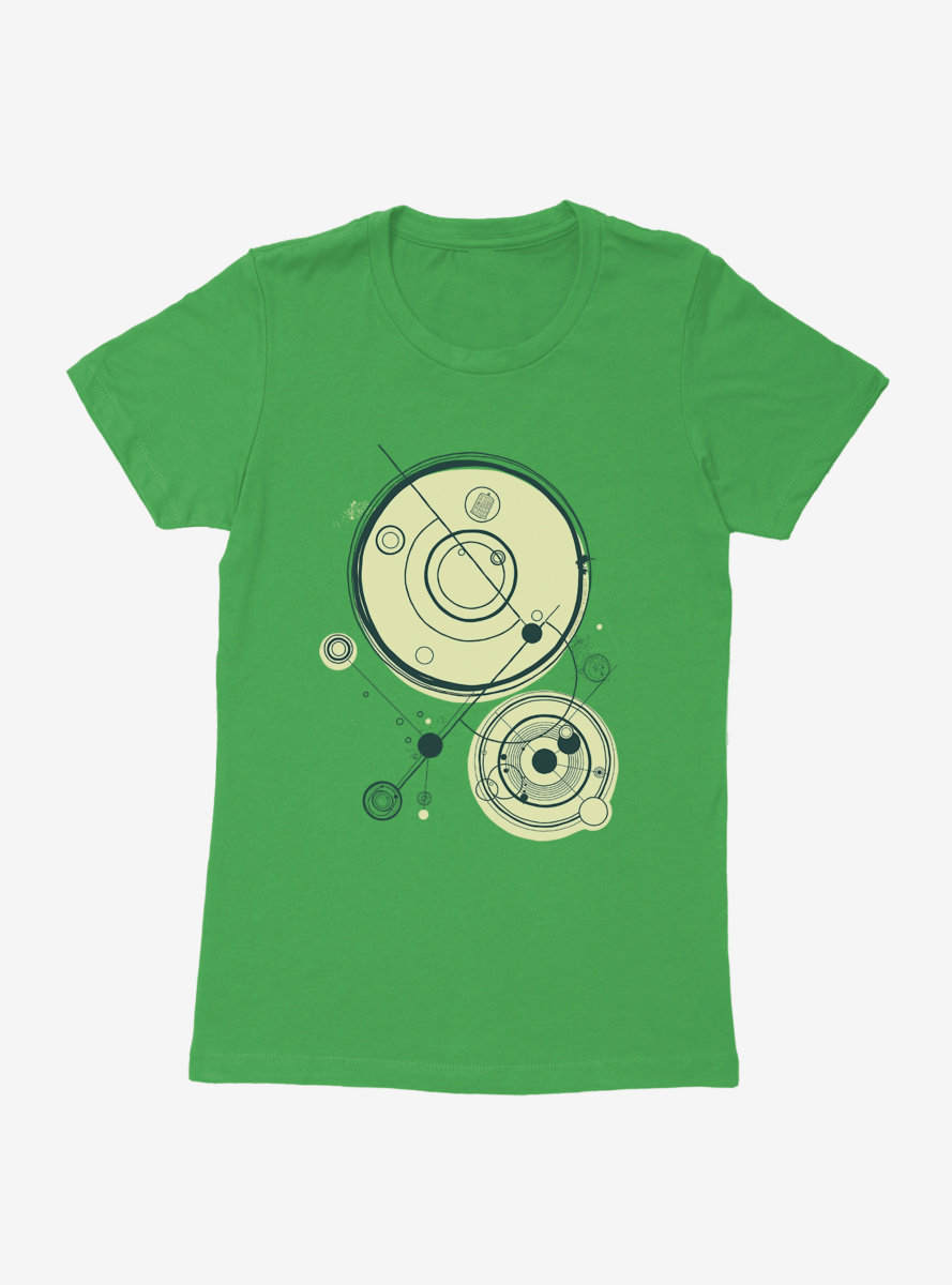Doctor Who Time Cycles Womens T-Shirt