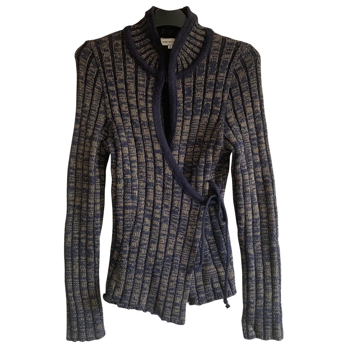 Dries Van Noten \N Khaki Wool Knitwear for Women 36 FR