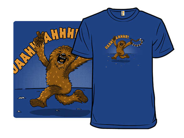 Streaking Wookie T Shirt