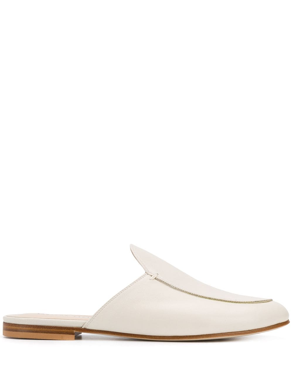 Bianca Leather Slippers
