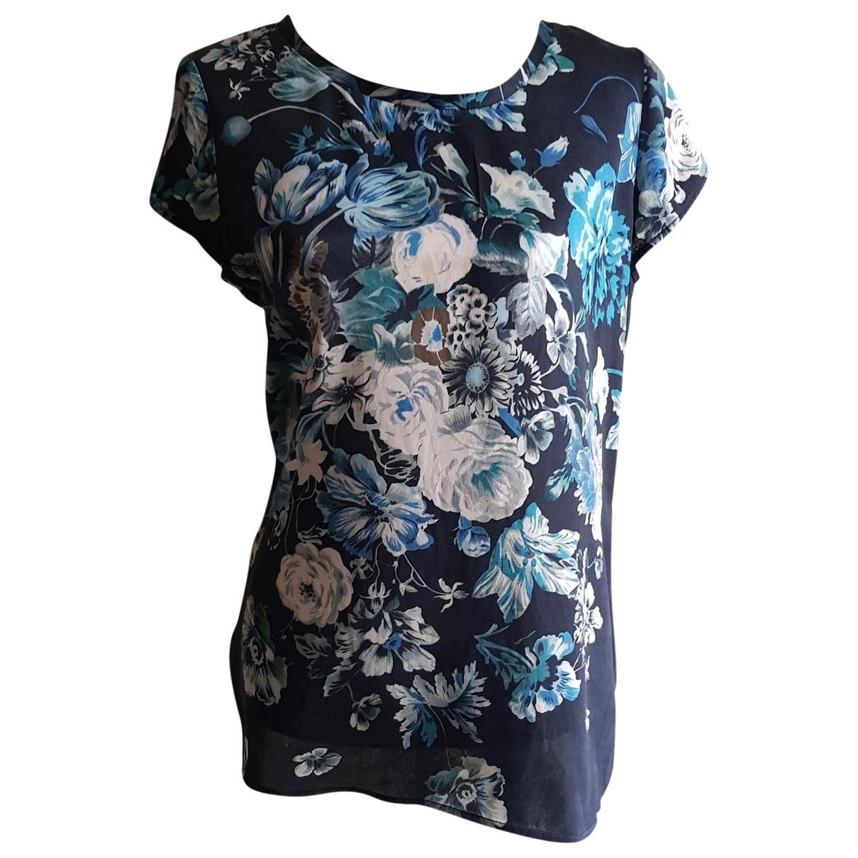 Liu.jo \N Blue Silk  top for Women 44 IT