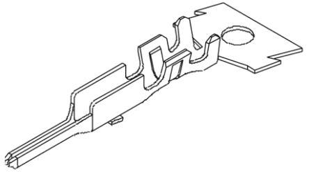 Molex Male Crimp Terminal Contact 22AWG 35053-9002 (100)