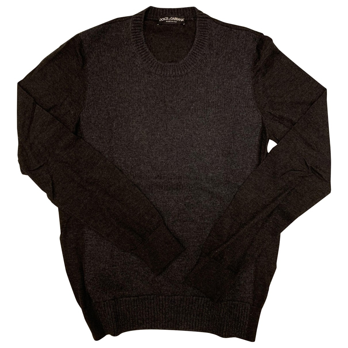 Dolce & Gabbana \N Anthracite Cashmere Knitwear & Sweatshirts for Men 48 IT