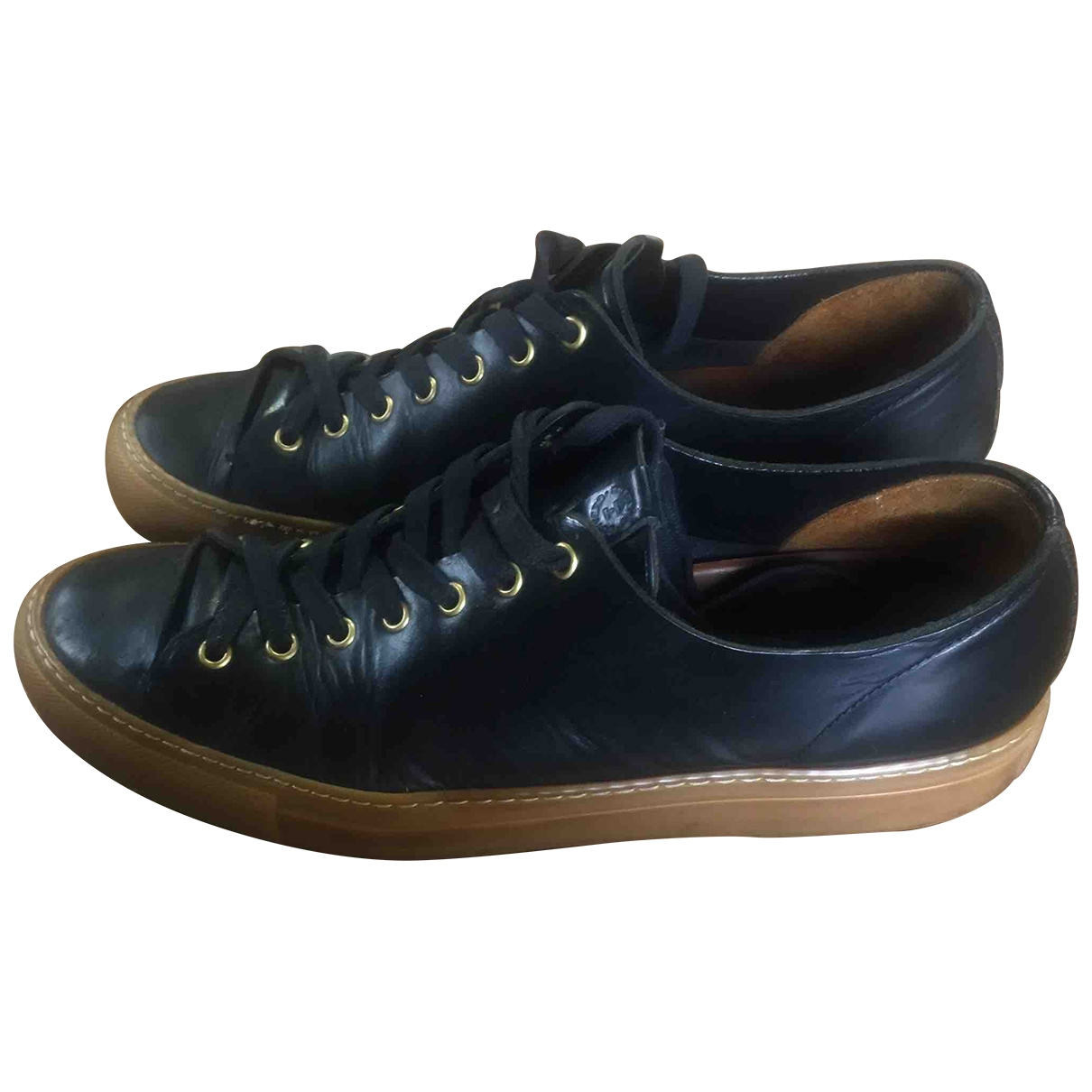Buttero \N Black Leather Trainers for Men 43 EU