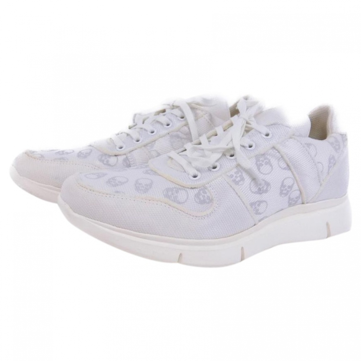 Lucien Pellat Finet \N White Leather Trainers for Men 40 EU