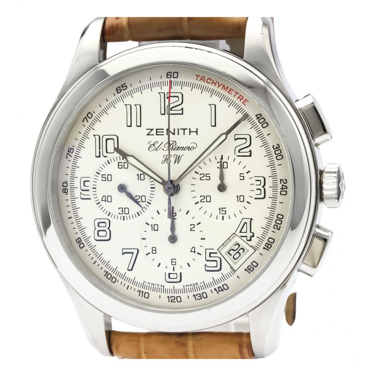 Zenith Classique Silver Steel watch for Men \N