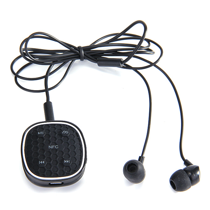 ZONOKI B92 Sports Stereo Wireless NFC BT4.0 Headset Sweat Proof Earphone Headphone For iPhone6/5/4 GalaxyS4/S3 - Black