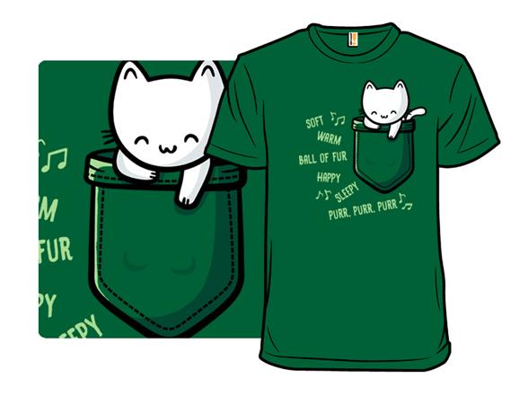 Soft Pocket Kitty T Shirt