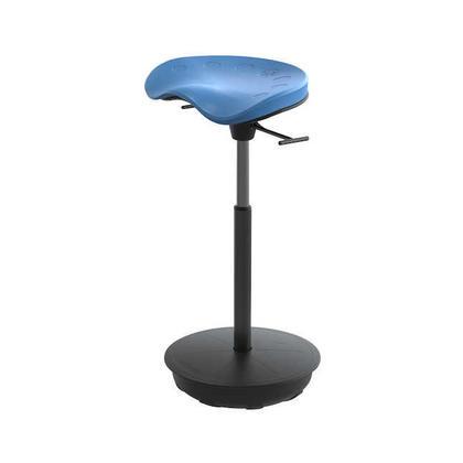 SAFCO® Focal™ Chaise pivotante pour travail debout - Bleu