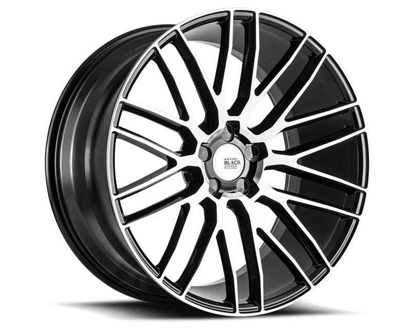 Savini BM13-20100508M2763 di Forza Machined Black with Black Lip BM13 Wheel 20x10.0 5x108 27mm