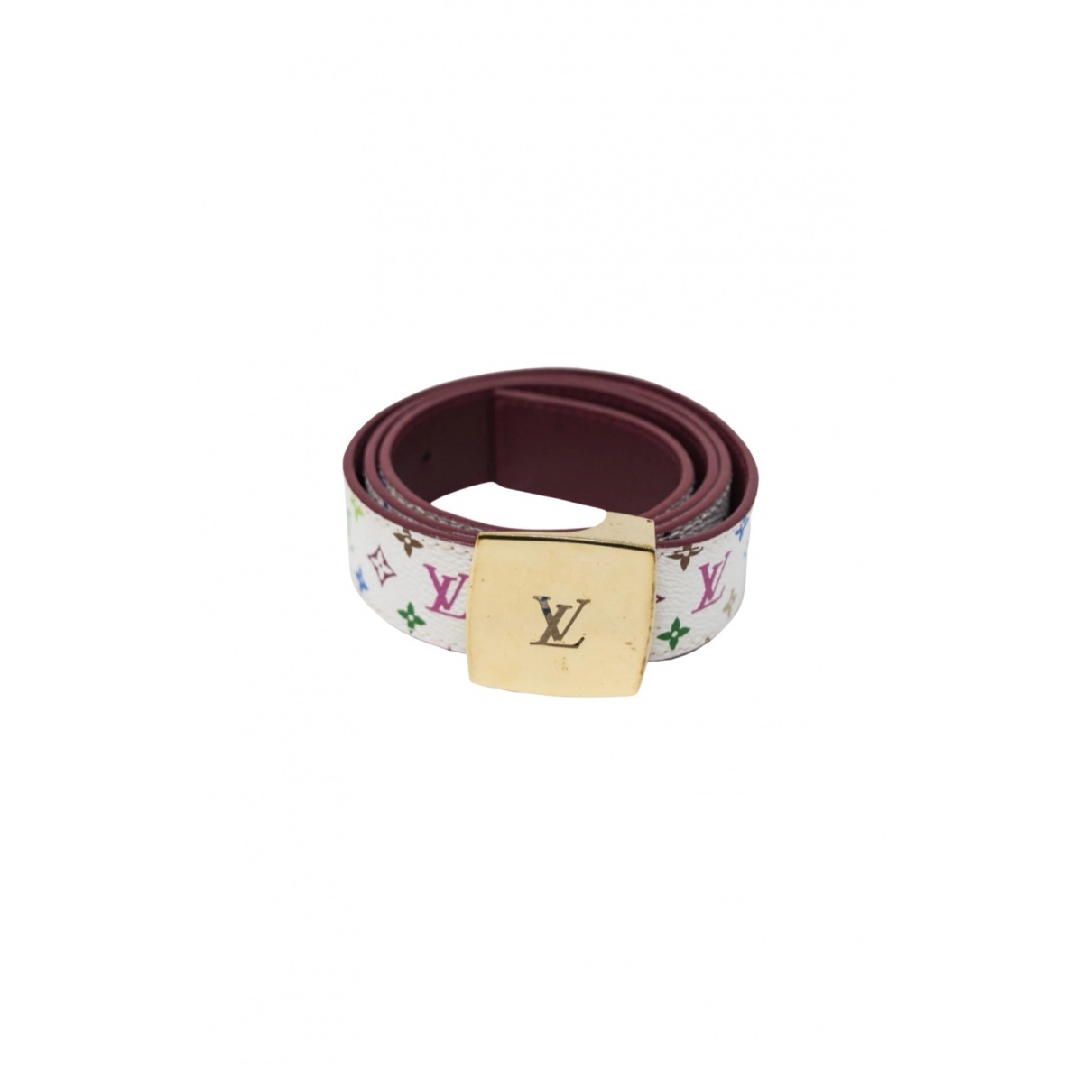 Louis Vuitton \N Multicolour Cloth belt for Women 90 cm
