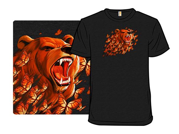 Butterfly Bear T Shirt