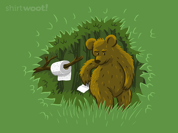 Does The Bear... T Shirt
