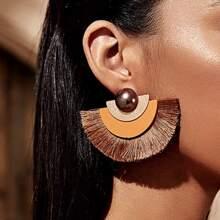 Tassel Decor Earrings