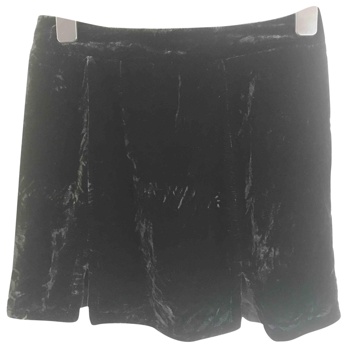 For Love & Lemons \N Black Velvet skirt for Women S International