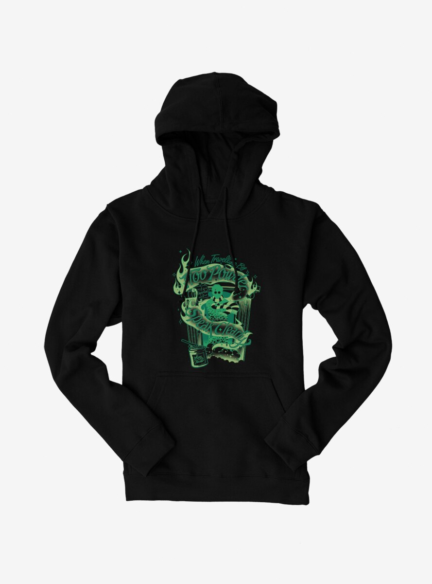 Harry Potter Travel By Floo Powder Hoodie