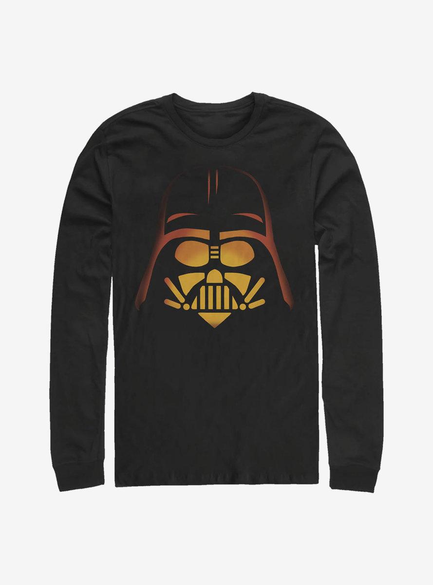 Star Wars Pumpkin Vader Long-Sleeve T-Shirt
