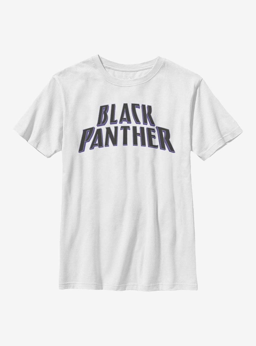 Marvel Black Panther English Youth T-Shirt