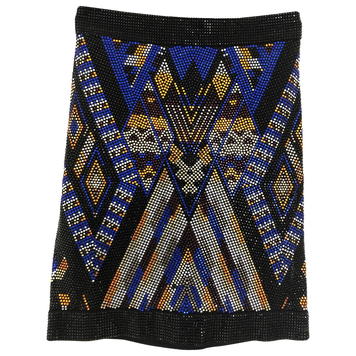 Balmain \N Multicolour Glitter skirt for Women 36 FR