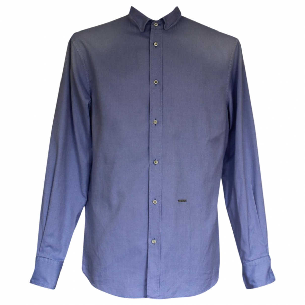 Dsquared2 \N Blue Cotton Shirts for Men XL